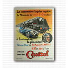 Castrol Speed Records by Jean Pillod Repro Vintage Racing Poster