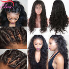 Brazilian Glueless Remy Human Hair Hot Natural Water Wave Full/Front Lace Wig
