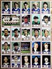 PANINI 81 FOOTBALL MANCHESTER UNITED LEEDS IPSWICH NORWICH EVERTON MIDDLESBROUGH