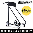 315 LBS Outboard Boat Motor Stand Carrier Cart Dolly Trolling Steel Tube Canoe