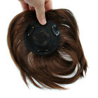 """7.8inch Long Base 4''x4"""" 100% Human Hair Topper Hairpiece On Sale For Women"""