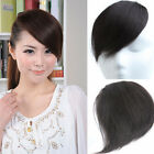 4 colors 30g Virgin human hair Bangs Fringes Straight  clips-in hair extensions