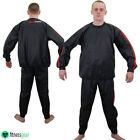 Heavy Duty Sauna Sweat Track Suit Home Gym Fitness Exercise Anti Rip Weight Loss