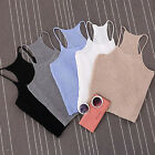 Charming Women Bralette Bralet Bustier Crop Top Cami Tank Tops Sleeveless Vest