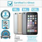 Apple iPhone 6 A1586 4G - 16GB 64GB 128GB *EXCELLENT *6 Month Warranty *Unlocked