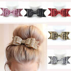 Women's Girl Shiny Sequin Big Bowknot Barrette Hairpin Hair Clip Hair Bow HOT CA
