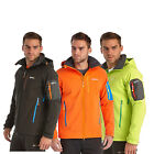 Regatta Hewitts Mens Water-Repellent Wind Resistant Hooded Softshell Jacket