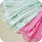 """Bilateral Symmetrical Cotton Embroidery DIY Dresses Lace Fabric 51"""" wide 1 yard"""