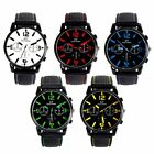 Men Fashion Stainless Steel Sport Cool Quartz Hours Wrist Analog Watch
