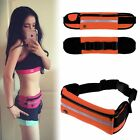 Outdoor Sports Waterproof Waist Belt Running Cycling Pouch Bag Fr iPhone Samsung