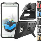 Heavy Shockproof Armor Stand Hard Case Cover For Samsung Galaxy S7 S6 Edge S5