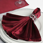 """200 Silky SATIN 20x20"""" Wedding NAPKINS Party Table Linens Catering Decorations"""