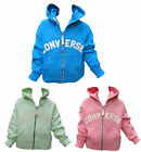Converse Girls Hoodie/Hoody Fully Zipped All Star Chuck Taylor 8 Years - 15 Year