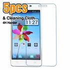 5pcs 4H Clear LCD Screen Protector Film Cover For ZTE Mobile Phone #001