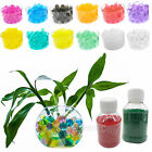 Bottle of Crystal Mud Soil Planting Flower Water Jelly Gel Beads Balls 6000 pcs