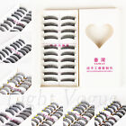 10 Pairs Makeup Natural Thick Fake False Eyelashes Eye Lashes Extension 01c