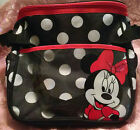 Disney Baby Minnie Mouse Small Diaper Bag; Girl's; White Polka Dots, Red, Black