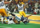 Kevin Dyson Super Bowl XXXIV Touchdown Td Dive Titans Football 8x10 11x14 Photo