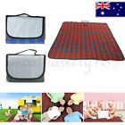 1.5 x 2m Outdoor Waterproof Picnic Rug Travel Blanket Campnig Festival Large AU
