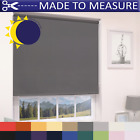 MADE TO MEASURE - 100% THERMAL BLACKOUT ROLLER BLINDS - CUSTOM MADE TO SIZE
