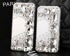 Hot 3D Luxury Bling Diamond Rhinestone Crystal Hard Clear Cell Phone Case Cover