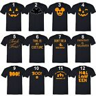 Women Men HALLOWEEN Costume T-shirt Jack O lantern Shirt Don't Be a Basic Witch