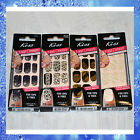 (2) KISS NAIL DRESS Full Nail Stick For Tips & Toes * Set of 2 * 28 Strips