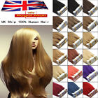 """Premium Seamless Tape in Weft Remy Human Hair Extensions 16""""18""""20""""22""""24""""UK Stock"""