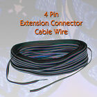 5m extension cable - 2M 5M 10M 20M 50M 5050 3528 LED RGB Strip - 4 Pin Extension Connector Cable Wire