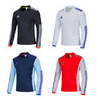 Adidas Men VOLZO 15 Climalite Training Jersey Top Soccer Football Tracksuit GYM