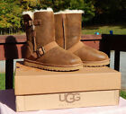 NIB Women's UGG Classic Short Dylyn Boots Bomber Jacket C...