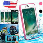 For iPhone 7 7S Plus Waterproof LifeProof Shockproof Dirt Touch Hard Case Cover