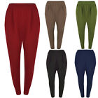 M96 Trouser Work Office Women Ladies Two Pocket Elasticated in Plus Size 16-22