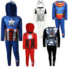Boys Kids Disney Star Wars Superhero Sublimation Nightwear Pyjama Pj Set Age 2-8