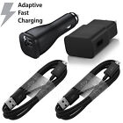 Samsung Galaxy S6 S7 Edge Note 4 Note 5 Adaptive Fast Rapid Wall Charger Lot