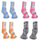 Cashel LEG GUARDS Boots Fly Control Arab Horse Warmblood Orange Blue Pink Gray