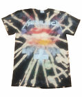 Metallica T Shirt Master of Puppets Bleached new custom Mens Black