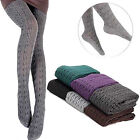Women Lady Knit Winter Pantyhose Tights Stretch Thick Cotton Stockings Socks