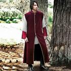 Sleeveless Wine Red Medieval Coat. Perfect for Re-enactment, Stage or LARP