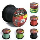 Low Gain 300m 10-100LB Dyneema PE Spectra Braided Various Colors Fishing Line