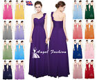 UK New Chiffon Formal Evening Prom Cocktail Party Ball Gown Bridesmaid Dress