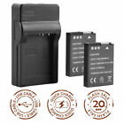 EN-EL12 Battery+Charger for Nikon AW130 S710 P310 S6100/6200/6300/8000/8100/9400