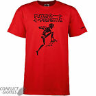 "POWELL PERALTA ""Future Primitive"" Lance Mountain Skateboard T-Shirt RED S M XL"