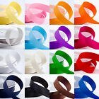25Yards Satin Ribbon Wedding Party Decoration Craft Sewing Many Colors Pick C40S