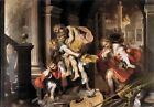 Flight from Troy by Barocci, 1598 (Classic Greco-Roman Mythology Art Print)