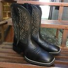 Внешний вид - Ariat Men's Black Sport Wide Square Toe Western Boots 10016292