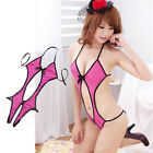 Women's Sexy Lingerie Lace Dress Underwear Babydoll Sleepwear G-String 44h