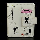 Crazy Cats - Small Zipper Wallet  - Shagwear - New