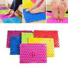 Hot Colorful Acupuncture Foot Massager Medical Therapy Mat Foot Massage Pad
