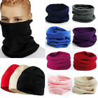 Polar Fleece Neck Warmer Snood Scarf Ski Motorbike Mask Mens Ladies Unisex 2016